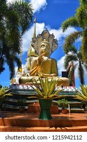 Phang-nga Buddha statue At Wat Suwannakhuha Ubon Ratchathani Thailand