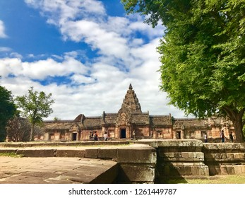 Phanom Rung, an ancient Khmer temple. Buriram, Thailand.