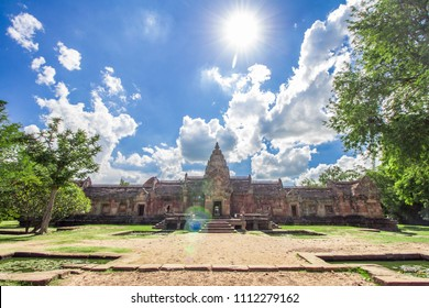 Phanom Rung Historical Park in Buriram Province in the Isan region of Thailand