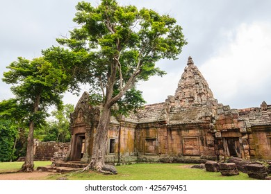 Phanom Rung historical park , Castle Rock old Architecture  ,Buriram Province,Thailand
