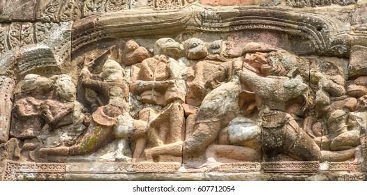 Phanom Rung, Khmer Ruin In Buriram Province ,Thailand