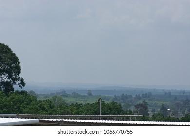 Phanomdongrak Mountain landscape at Phising Sisaket Thailand
