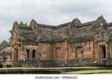 Phanomrung stone castle , Ancient stone castle , Stone castle in Buriram Province, Thailand.