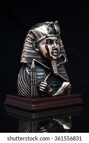 Pharaoh mask on the background