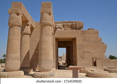 Pharaonic construction 19 th dynasty Thebes Nile Valley.