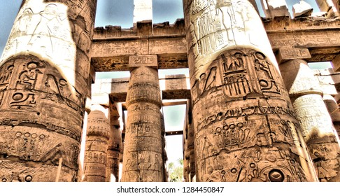 Pharaonic temples south of Egypt