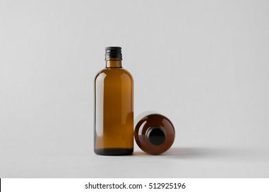 Pharmaceutical Bottle Mock-Up - Two Bottles