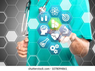 Pharmaceutical scientist and biomedical illustration