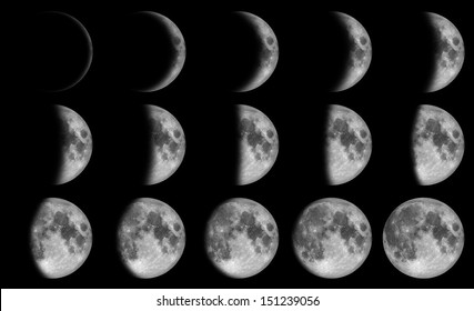 Phases of the moon - 15 day in the night time