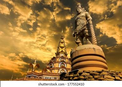 Phasornkaew Temple ,that place for meditation that practices, Khao Kho Phetchabun Thailand.