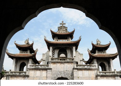 Phat Diem Cathedral - superb Sino - Vietnamese architecture in Vietnam. The architecture of Phat Diem church is a cross between Vietnamese and European styles.