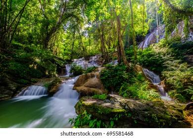 Phatad Water Fall in Kanchanaburi