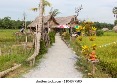 Phatthalung, Thailand - May 19, 2018: NaPoKae Rice and farmers learning center Tourist attraction located in Phatthalung , Thailand.
