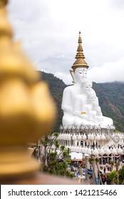 Phetchabun, Thailand-December 29,2018, Wat Phra That Pha Son Kaew, Phetchabun, Thailand.