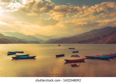 Phewa Tal (Phewa Lake or Fewa Lake) is a lake in Nepal and is the biggest lake in the Pokhara. it is attach with  lakeside which is  well  known toursim destity
