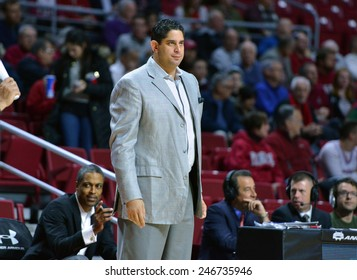 PHILADELPHIA - JANUARY 22: South Florida Bulls head coach Orland Antigua shown during the AAC conference college basketball game January 22, 2015 in Philadelphia.