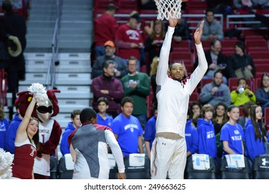 PHILADELPHIA - JANUARY 31: Temple Owls forward/center Devontae Watson (23) shoots during pre game drills prior to the AAC conference college basketball game January 31, 2015 in Philadelphia.