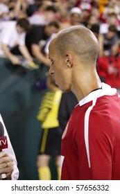 PHILADELPHIA - JULY 21 : Gabriel Obertan of Manchester United team during match against Philadelphia Union on July 21, 2010 in Philadelphia.