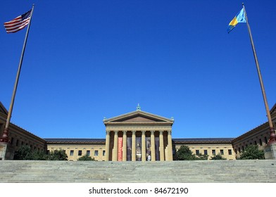 Philadelphia Museum of Art on a clear day