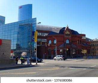 Philadelphia, PA - April 9 2017: Paul Peck Alumni Center on the campus of Drexel University
