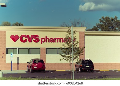 Philadelphia, Pennsylvania - Aug 8, 2017:CVS Pharmacy Retail Location. CVS is the Largest Pharmacy Chain in the US VI