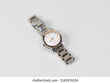 Philadelphia, Pennsylvania, August 24, 2018:Burberry Men's and Women's Watches Isolated