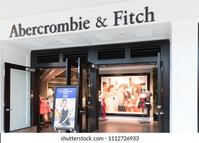 Philadelphia, Pennsylvania, May 19 2018:  Abercrombie & Fitch Clothing Store in Philadelphia I