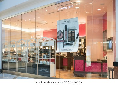 Philadelphia, Pennsylvania, May 30 2018:Bare Minerals Retail Store front