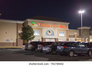 Philadelphia, Pennsylvania, October 19 2017: Christmas Tree Shops Store