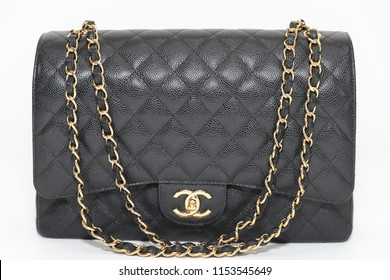 2d00748838 Philadelphia, Pennsylvania, USA, August 10, 2018: Photo of black Chanel  handbag