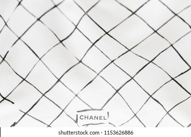 51cd3cba0bac ... bag on white background. Philadelphia, Pennsylvania, USA, August 10,  2018: Photo of black Chanel dust