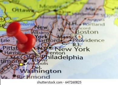 Philadelphia, Pennsylvania, USA. Copy space available.