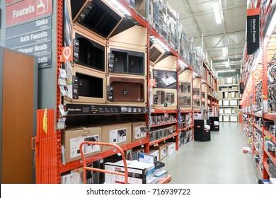 Philadelphia, Pennsylvania, USA, September 16, 2017: The Home Depot
