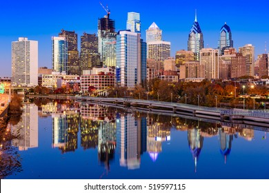 Philadelphia, Pennsylvania, USA Skyline on the Schuylkill River.