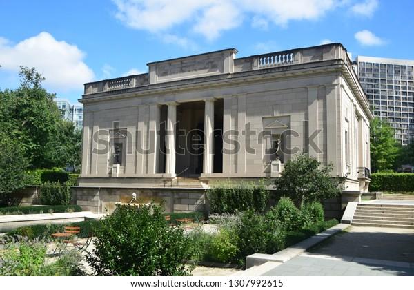 Philadelphia Rodin Museum Stock Photo Edit Now 1307992615
