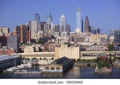 Philadelphia skyline, USA