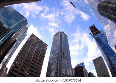 Philadelphia (USA) Downtown scenery