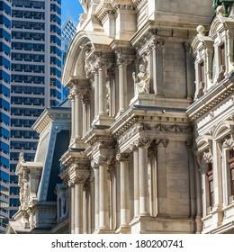 Philadelphia's landmark historic City Hall building.