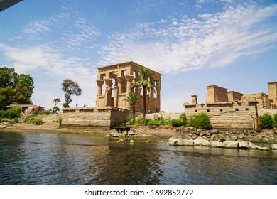Philae Temple at Aswan, Egypt