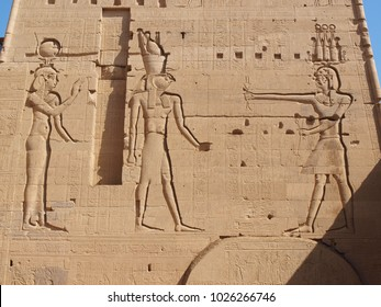 The Philae Temple in Egypt