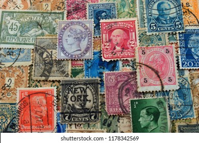 Philately is the field of collecting and studying the history of national postage stamps . The fee for sending items by mail.