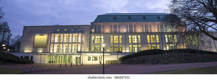 philharmonia building essen germany