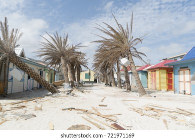 Philipbsburg St.Maarten, Hurricane Irma category 5 causes damage to the walters plants