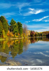 Philippe lake in Gatineau Park, Hull, Canada