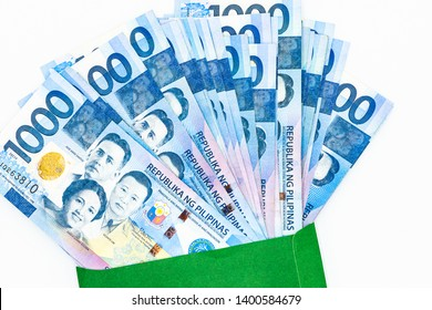 Philippine 1000 peso bill, Philippines money currency, Philippine money bills background.