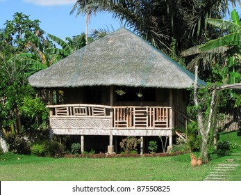 Philippine Dwelling Made From Native Materials