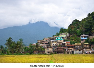 Philippine hillside village