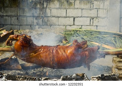 Philippine Roast Pig, a favorite in the country