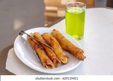 philippines banana snack turon