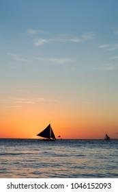 Philippines, Boracay Sunset